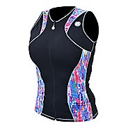 Womens De Soto Riviera Jersey Sleeveless & Tank Technical Tops