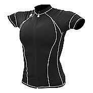 Womens De Soto Forza Tri Jersey - Short Sleeve Short Sleeve Technical Tops