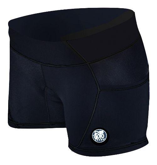 Womens De Soto Carrera Micro Tri Unlined Shorts - Black M