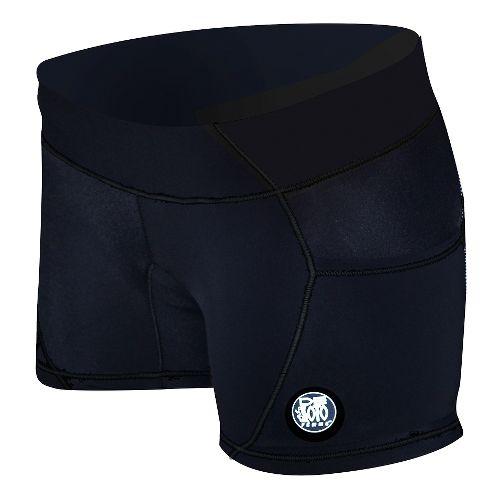 Womens De Soto Carrera Micro Tri Unlined Shorts - Black S