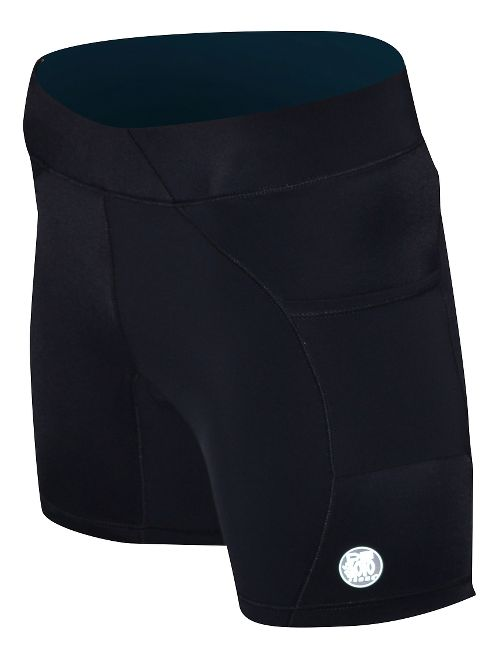 Womens De Soto Carrera Tri 2-in-1 Shorts - Black L