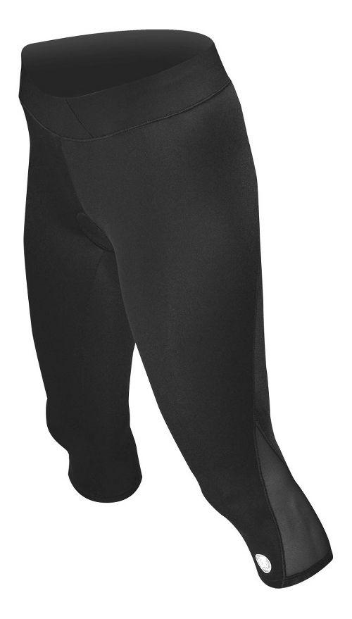 Womens De Soto Carrera Tri Capris Tights - Black S