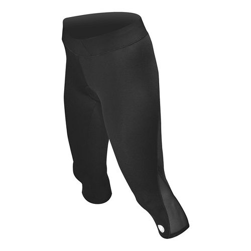 Womens De Soto Carrera Tri Capris Tights - Black L
