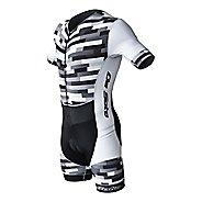 Mens De Soto Riviera Sleeved Trisuit Triathlon UniSuits