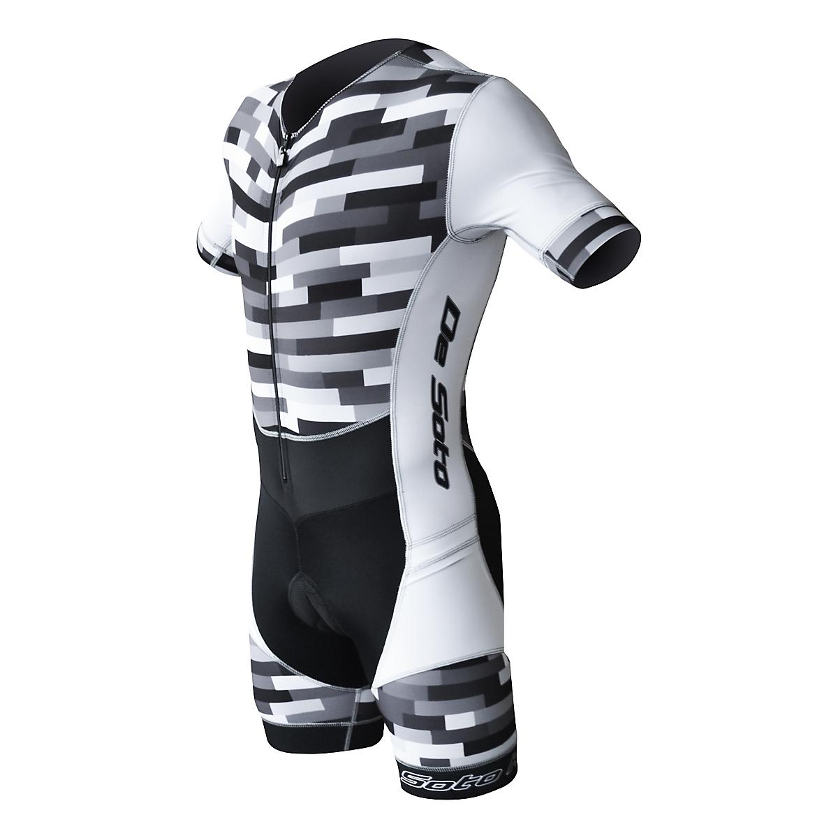 Men's De Soto�Riviera Sleeved Trisuit