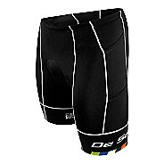 Mens De Soto Mobius Tri 4 Pocket Unlined Shorts - Black/Multi XL