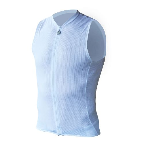 Mens De Soto Riviera SDS Tri Top - Full Zip Sleeveless & Tank Technical Tops ...