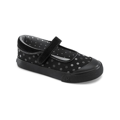See Kai Run Girls Sandi Casual Shoe - Black 1Y