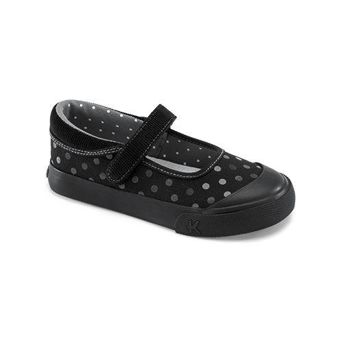Kids See Kai Run Sandi Casual Shoe - Black 2.5Y