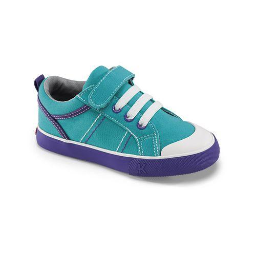 Kids See Kai Run Callen Casual Shoe - Aqua 8.5