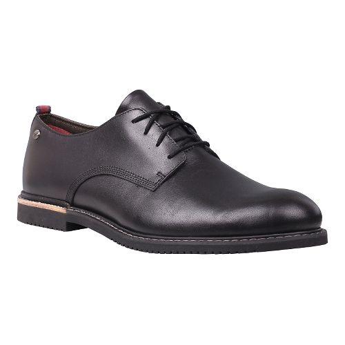 Mens Timberland Brook Park Oxford Casual Shoe - Black Full Grain 7.5
