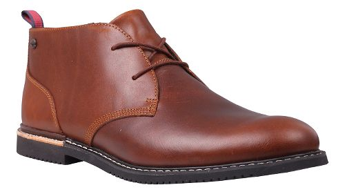Mens Timberland Brook Park Oxford Casual Shoe - Red/Brown Smooth 10.5