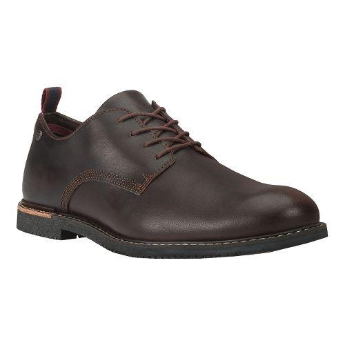 Mens Timberland Brook Park Oxford Casual Shoe - Dark Brown 12