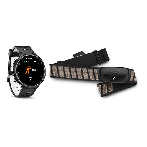 Garmin Forerunner 230 GPS + HRM Monitors - Black/White
