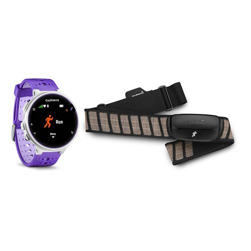 Garmin Forerunner 230 GPS + HRM Monitors - Purple/White