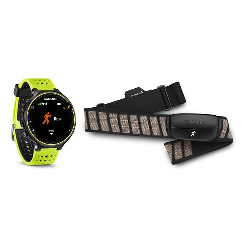 Garmin Forerunner 230 GPS + HRM Monitors - Force Yellow