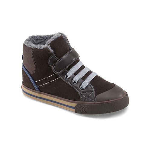 Kids See Kai Run Andy Casual Shoe - Brown 1.5