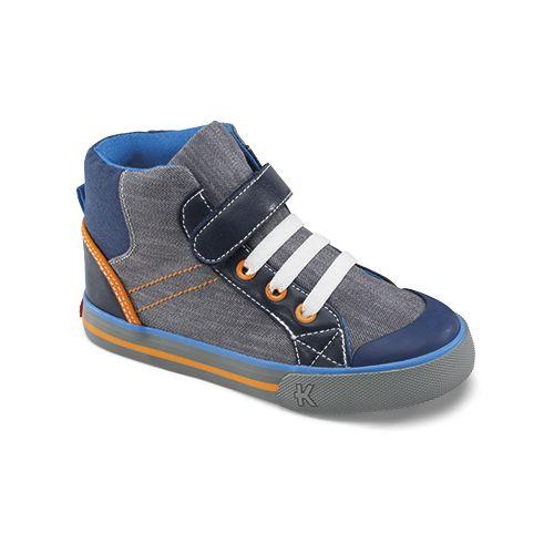 Kids See Kai Run Andy Casual Shoe - Grey 13