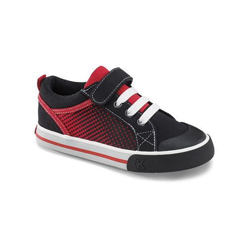 Kids See Kai Run Tucker Casual Shoe - Black 9.5