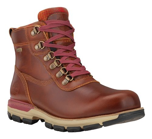 Mens Timberland Heston Mid with GORE-TEX Membrane Casual Shoe - Brown 8