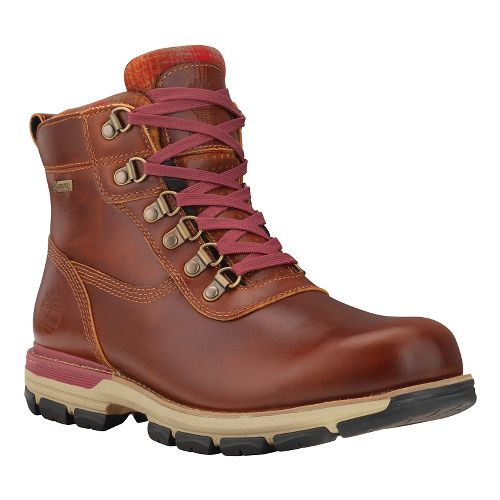 Mens Timberland Heston Mid with GORE-TEX Membrane Casual Shoe - Brown 7.5