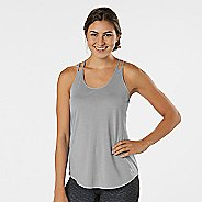 Womens R-Gear Standout Strappy Sleeveless & Tank Technical Tops - Heather Grey Mist XS