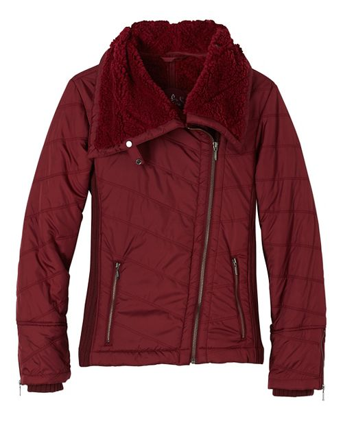 Womens prAna Diva Cold Weather Jackets - Red XL