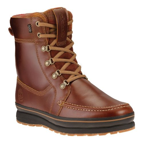 Mens Timberland Schazzberg High Waterproof Insulated Casual Shoe - Brown 10