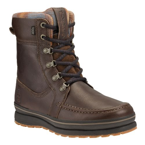 Mens Timberland Schazzberg High Waterproof Insulated Casual Shoe - Dark Brown 8.5