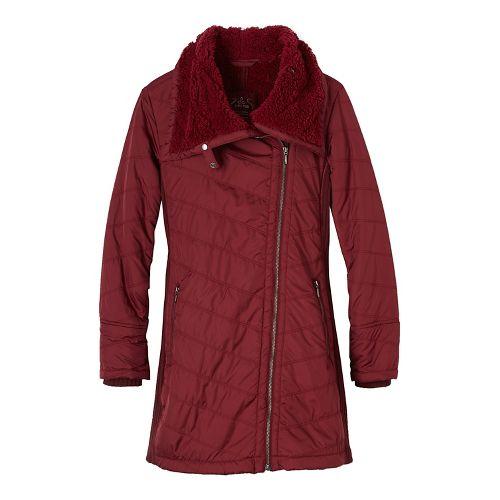 Womens prAna Diva Long Cold Weather Jackets - Winter M