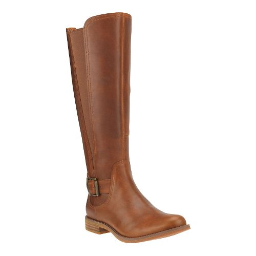 Womens Timberland Savin Hill All Fit Tall Boot Casual Shoe - Wheat 7