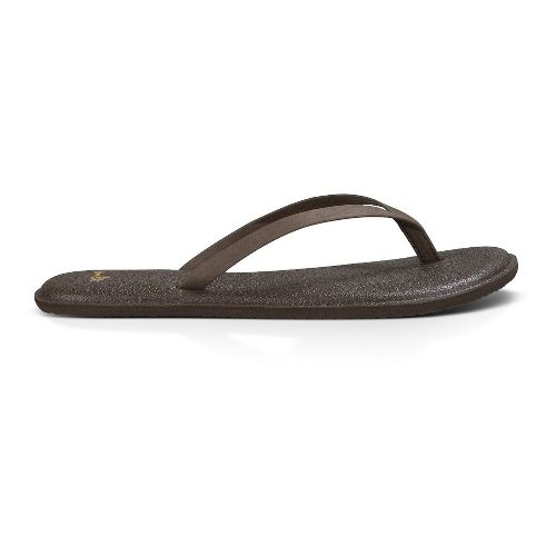 Womens Sanuk Yoga Bliss Sandals Shoe - Brown 11