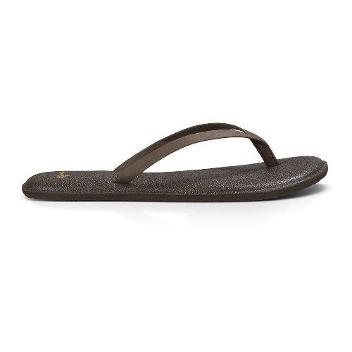 Womens Sanuk Yoga Bliss Sandals Shoe - Brown 8