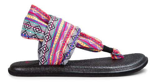 Womens Sanuk Yoga Sling 2 Prints Sandals Shoe - Magenta/Multi 11