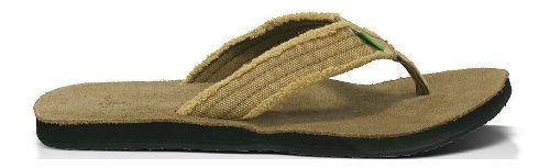 Mens Sanuk Fraid Not Sandals Shoe - Khaki 9