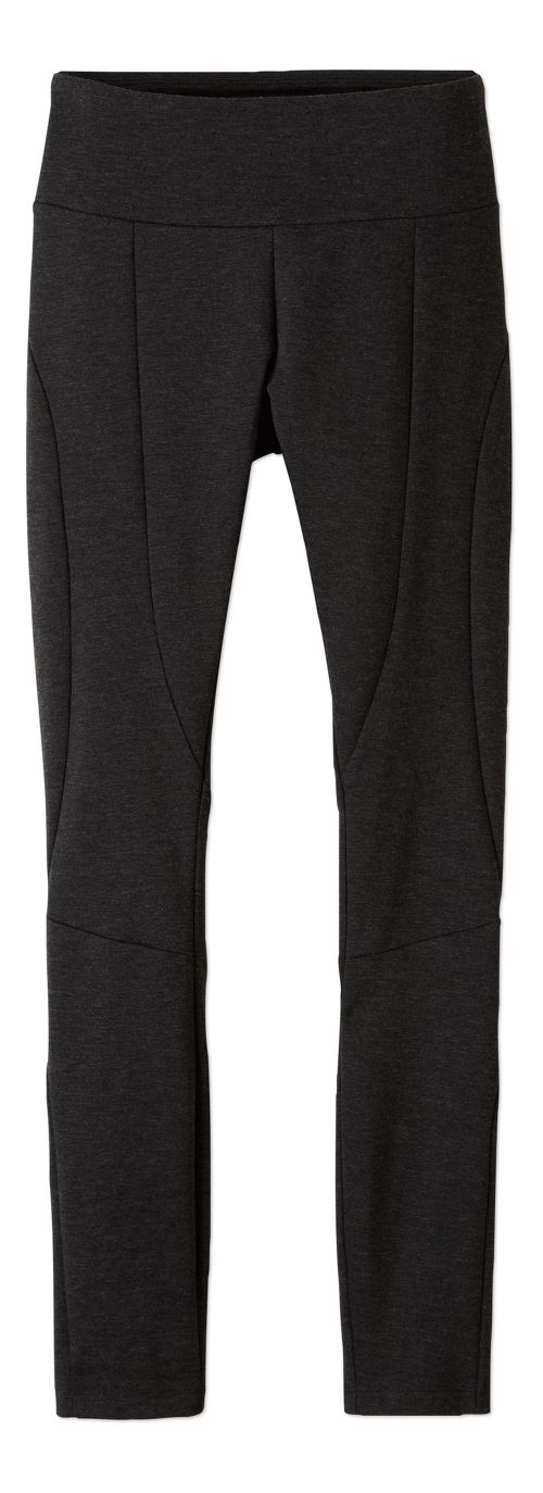 Womens prAna Moto Tights & Leggings Tights - Charcoal L