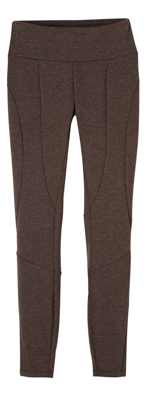 Womens prAna Moto Tights & Leggings Tights - Brown L