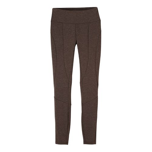 Womens prAna Moto Tights & Leggings Tights - Brown XL