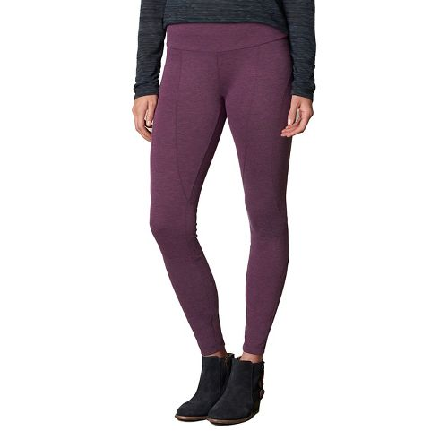 Womens prAna Moto Tights & Leggings Tights - Red XL
