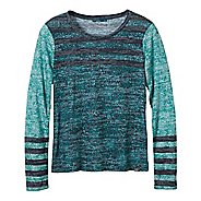 Womens prAna Izzy Long Sleeve Non-Technical Tops