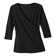 Womens prAna Arya Long Sleeve Non-Technical Tops