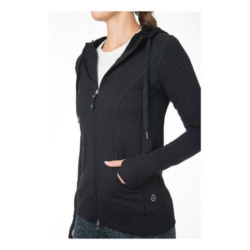 Womens Tasc Performance Uptown Full-Zip Hoodie & Sweatshirts Technical Tops - Black L