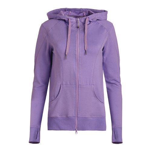 Womens Tasc Performance Uptown Full-Zip Hoodie & Sweatshirts Technical Tops - Lilac L