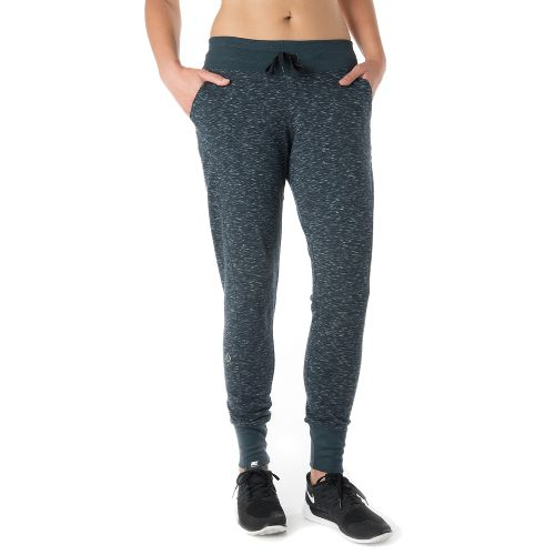 Womens Tasc Performance Riverwalk French Pants - Granite Heather L