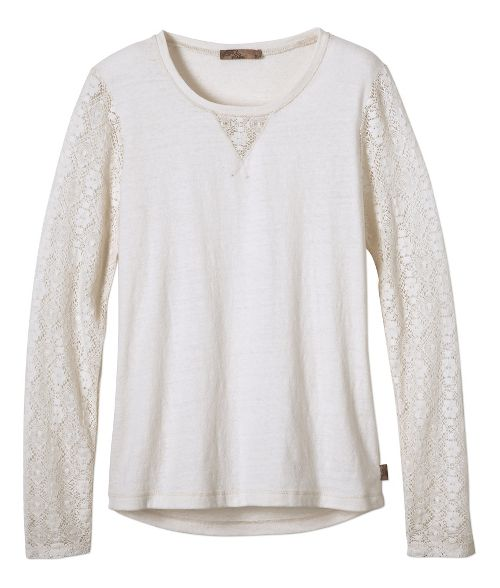 Womens prAna Darla Long Sleeve Non-Technical Tops - Winter XS
