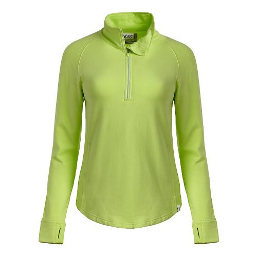 Womens Tasc Performance Northstar Fleece Hoodie & Sweatshirts Technical Tops - Limeade S