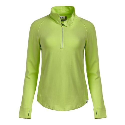 Womens Tasc Performance Northstar Fleece Hoodie & Sweatshirts Technical Tops - Limeade XS