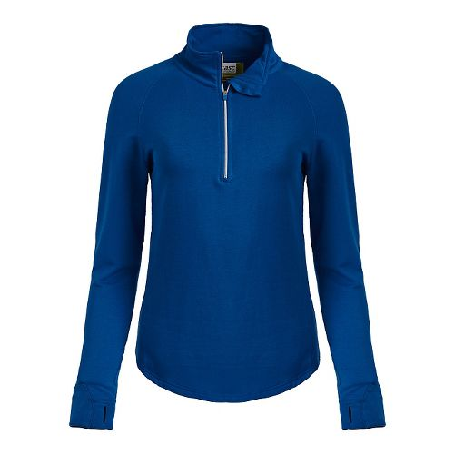 Womens Tasc Performance Northstar Fleece Hoodie & Sweatshirts Technical Tops - Deep Blue Sea S ...