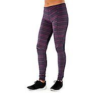 Womens Tasc Performance Cross Country Tight-Print Full Length Tights