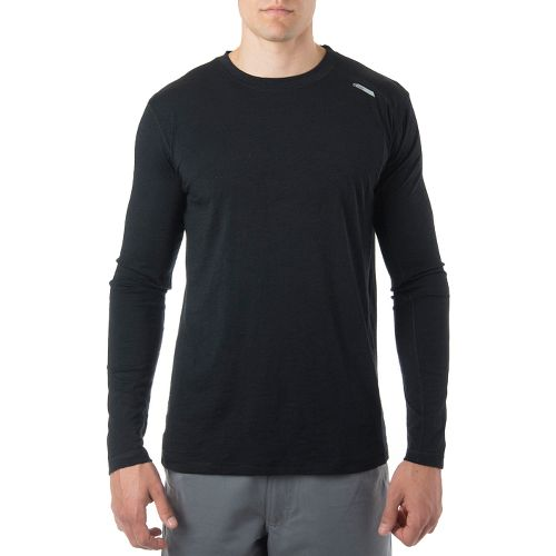 Mens Tasc Performance Elevation Long Sleeve Technical Tops - Black XXL